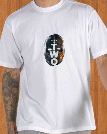 Army of Two T-Shirt Black White