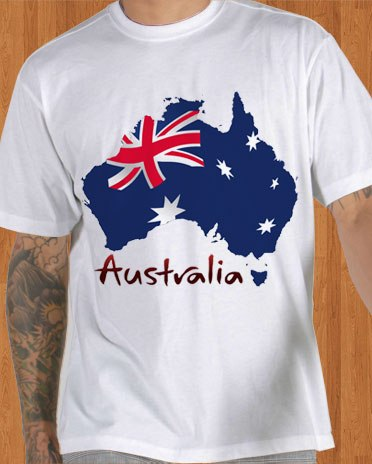 Australia flag t shirt merchandise t shirts for Design t shirts online australia