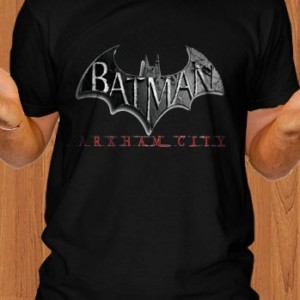 Batman T-Shirt Arkham City Black