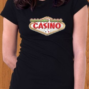 Double Down Casino T-Shirt Game Women