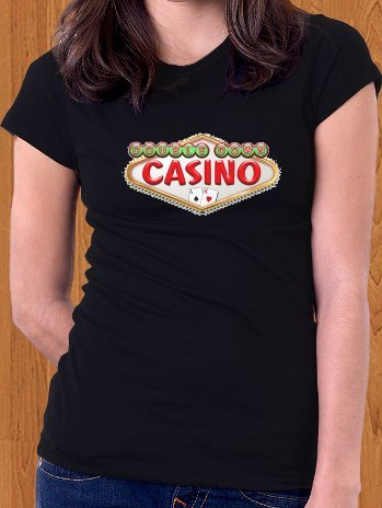 Double Down Casino T-Shirt Game Women