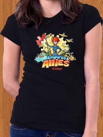 Empires & Allies T-Shirt Game Women