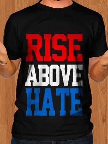 John Cena T-Shirt Rise Above Hate