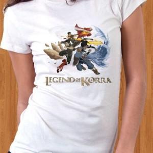 Legend Of Korra T-Shirt Nickelodeon The Last Airbender