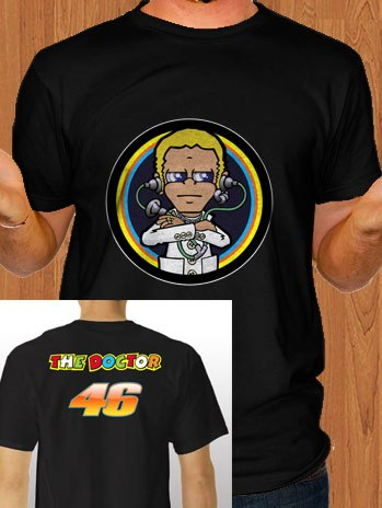 Valentino Rossi T-Shirt The Doctor 46