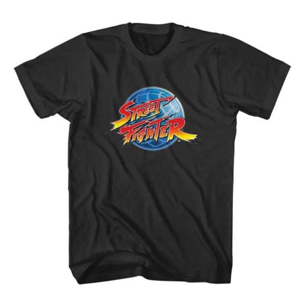 Street Fighter Logo T-Shirt